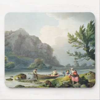 Lake of Wyndermere, from 'The Romantic and Picture Mouse Mat
