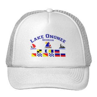 Lake Ononee GA Signal Flags Trucker Hat