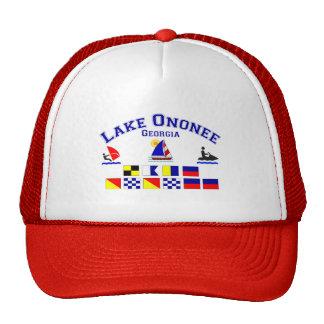 Lake Ononee GA Signal Flags Cap