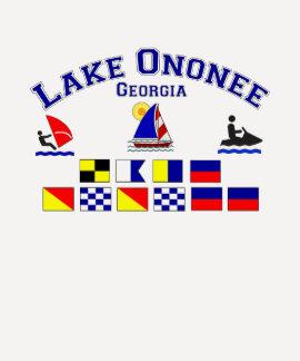Lake Ononee GA Signal Flags Shirt