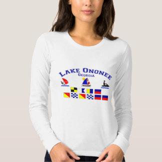Lake Ononee GA Signal Flags Shirts