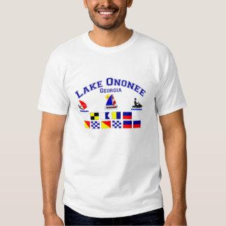 Lake Ononee GA Signal Flags T Shirt