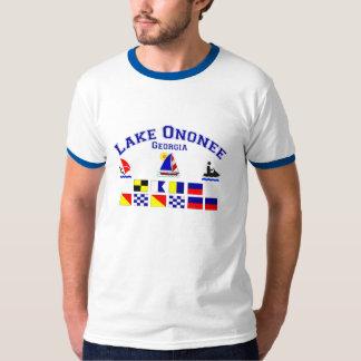 Lake Ononee GA Signal Flags T-shirt