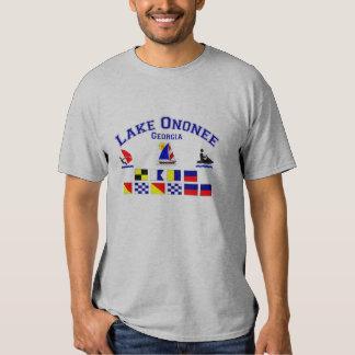 Lake Ononee GA Signal Flags Tees