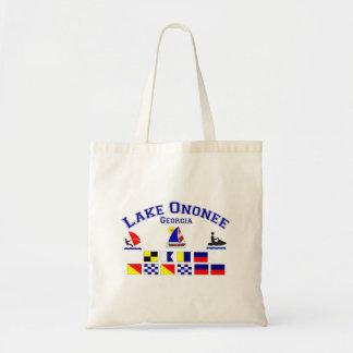 Lake Ononee GA Signal Flags Bag