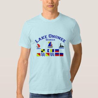 Lake Ononee GA Signal Flags Tshirts