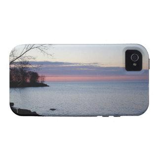 Lake Ontario at daybreak Vibe iPhone 4 Case