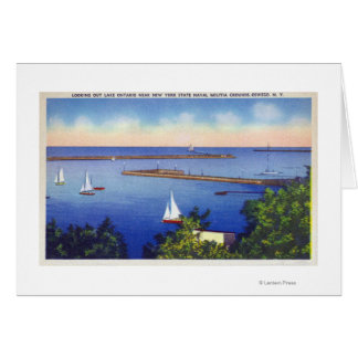 Lake Ontario View Card