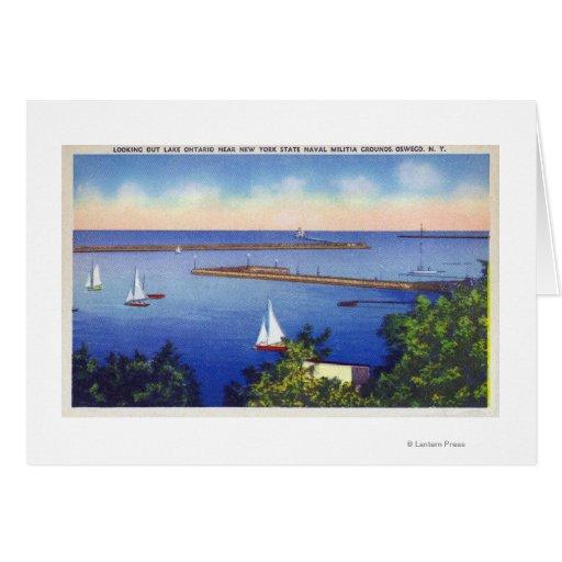 Lake Ontario View Greeting Card