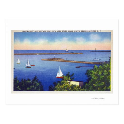 Lake Ontario View Post Cards