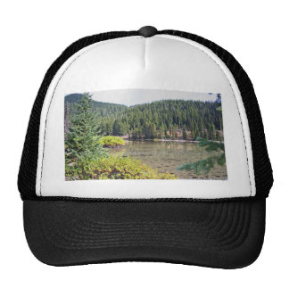 Lake, Oregon Cascades Trucker Hat