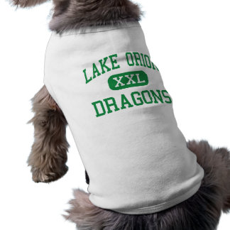 Lake Orion - Dragons - High - Lake Orion Michigan Sleeveless Dog Shirt