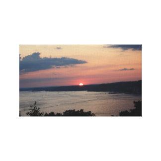 LAKE OZARK SUNSET CANVAS