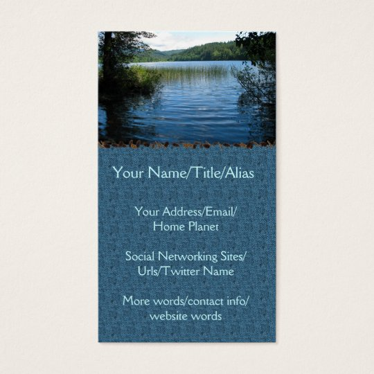 Lake Padden Business Card