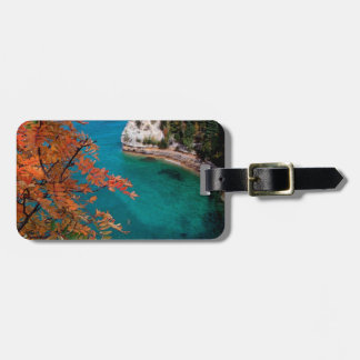 Lake Pictured Rocks Shore Superior Michigan Tags For Luggage