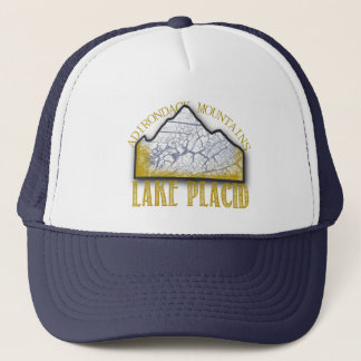 Lake Placid Hat Whiteface Mountain Adirondacks