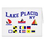 Lake Placid NY Signal Flags Cards