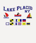 Lake Placid NY Signal Flags T Shirts