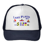 Lake Placid NY Signal Flags Trucker Hat