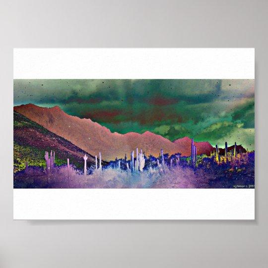 Lake Pleasant Mountain Poster