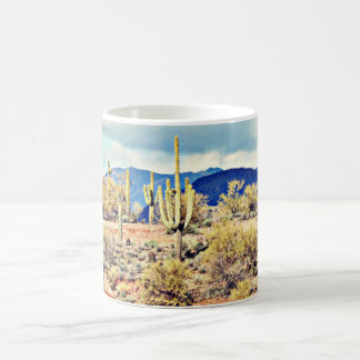 Lake Pleasant Saguaro Landscape Coffee Cup