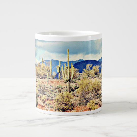 Lake Pleasant Saguaro Landscape Coffee Cup