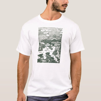 Lake Pokegama Map T-Shirt
