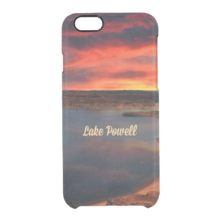 Lake Powell, Arizona Clear iPhone 6/6S Case