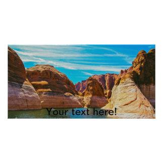 Lake Powell, Arizona Personalised Photo Card