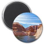 Lake Powell Page Arizona Water Reservoir Landscape Refrigerator Magnets