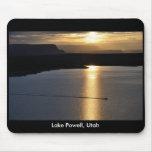 Lake Powell Sunrise - Glen Canyon Recreation Area Mousepad