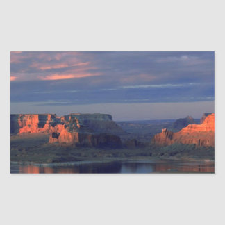 Lake Powell Utah Rectangular Sticker