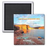 Lake Powell Vintage Style Fridge Magnets