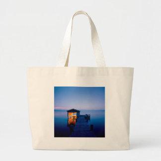 Lake Quiet Getaway Tahoe Nevada Tote Bag