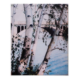 'Lake Quinsigamond 1988' Print