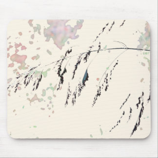 Lake Reeds - Cream and muted pastels Mouse Pad