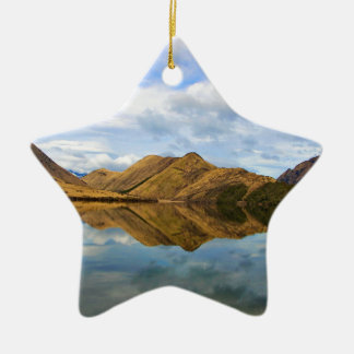 Lake Reflection Christmas Ornament