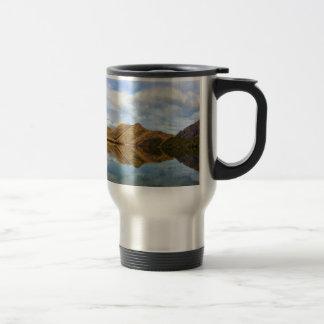 Lake Reflection Stainless Steel Travel Mug