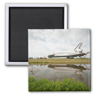 Lake Reflection Square Magnet