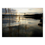 Lake Reflections ~ 5x7 Folded Greeting Card