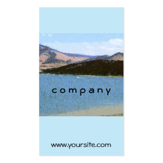 Lake Reflections Business Card Templates