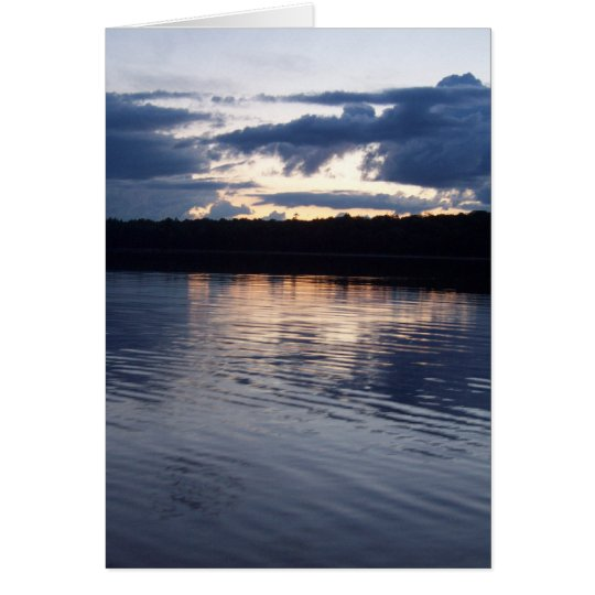 Lake Reflections II Card