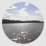 lake ripples sticker
