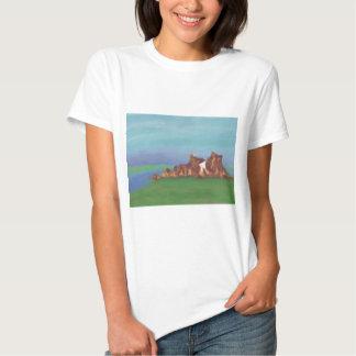 Lake Rock Formations, T-shirt / Shirt