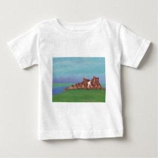 Lake Rock Formations Tshirt