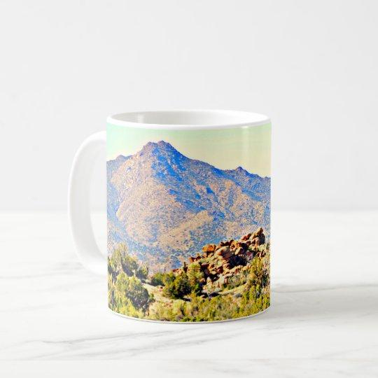 Lake Saguaro Landscape Classic Coffee Mug