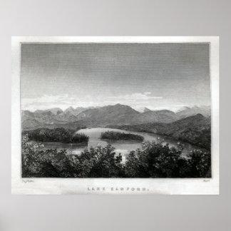 Lake Sanford Adirondacks Poster
