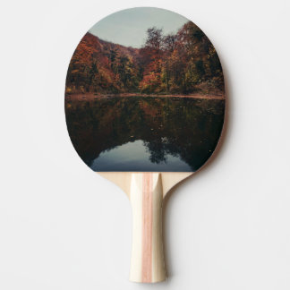 Lake Scenery Ping Pong Paddle
