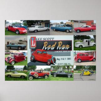Lake Scott Rod Run Poster