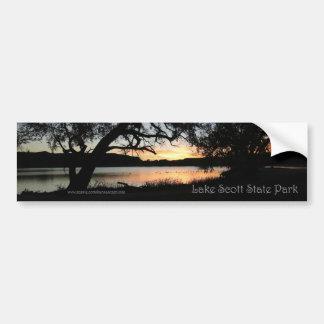 Lake Scott State Park Kansas Sunset Bumper Sticker